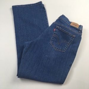 Vtg Levis 550 Relaxed Boot Cut High Rise Mom Jeans
